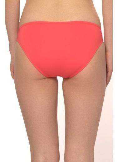 Reflections Mix Match Modelli Düz Bikini Alt Kırmızı